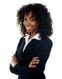 Erfolgreiche junge Geschäftsfrau, Portrait Lizenzfreie Stockbilder