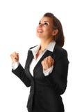 Erfolgreiche moderne Geschäftsfrau Stockfotos