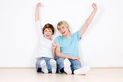 Erfolgreiche Paare Lizenzfreies Stockbild