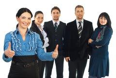 Erfolgreiche Teilhaberschaft Lizenzfreie Stockfotos