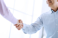 Erfolgreiche Vereinbarung Lizenzfreies Stockbild