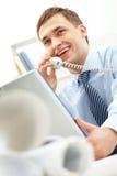 Erfolgreicher Arbeitgeber Lizenzfreie Stockfotografie