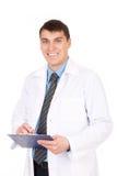 Erfolgreicher Doktor stockbild