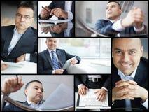 Erfolgreicher Geschäftsmann Stockbild