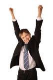 Erfolgreicher junger Junge Lizenzfreies Stockfoto