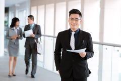 Erfolgreicher Manager Lizenzfreie Stockfotos