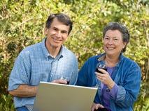 Erfolgreicher Ruhestand Stockfotos