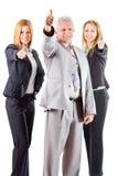 Erfolgreicher Senior Manager Stockbild
