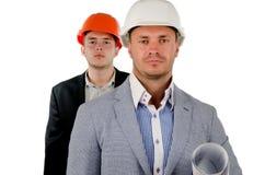 Erfolgreicher Vorarbeiter oder Aufsichtskraft Stockbilder