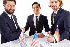 Erfolgreiches Abkommen Lizenzfreies Stockfoto