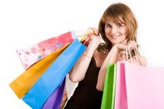 Erfolgreiches Einkaufen Lizenzfreies Stockbild