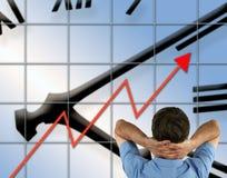 Erfolgreiches Geschäft Stockfoto