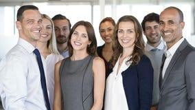 Erfolgreiches Geschäfts-Team stock video footage