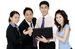 Erfolgreiches Geschäfts-Team Lizenzfreie Stockfotografie