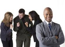 Erfolgreiches Geschäfts-Team Lizenzfreies Stockfoto