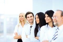 Erfolgreiches Geschäfts-Team stockfoto