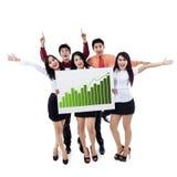 Erfolgreiches Geschäftsteam Lizenzfreies Stockbild