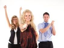 Erfolgreiches Geschäftsteam Lizenzfreies Stockfoto
