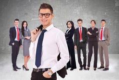 Erfolgreiches Geschäftsteam Lizenzfreie Stockbilder