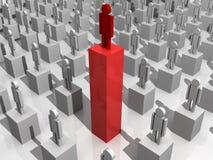 Erfolgs-Karriere-Gelegenheiten vektor abbildung
