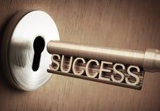 Erfolgs-Schlüssel Lizenzfreie Stockfotos
