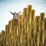 Erfolgs- und Gewinnkonzept Stockbild