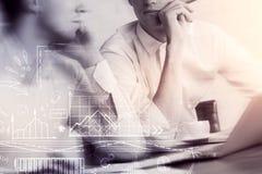 Erfolgs- und Teamwork-Konzept stockfotografie