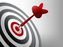 Erfolgs-Ziel vektor abbildung
