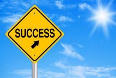 Erfolgs-Zusammenfassung Lizenzfreie Stockfotos