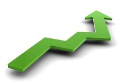 Erfolgsdiagramm Lizenzfreies Stockfoto