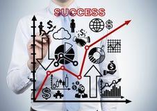 Erfolgsentwurf stockfotos