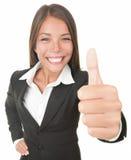 ErfolgsGeschäftsfrau lizenzfreies stockbild