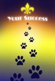 Erfolgsidee lizenzfreies stockbild