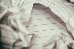 Erfolgskonzept und -idee zerknitterten Papierraum für Text Lizenzfreie Stockfotos