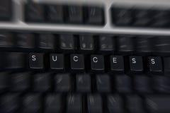 Erfolgsschlüsselwort Stockfoto