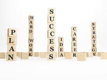 Erfolgsturm Stockfoto