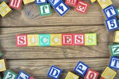 Erfolgswort Stockbilder