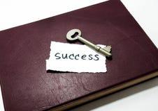 Erfolgswort und -schlüssel Lizenzfreies Stockbild