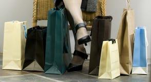 Erfolgtes Einkaufen Stockfotos