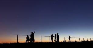 Erforschen Sie den Himmel Lizenzfreie Stockfotos