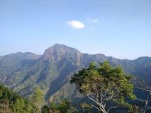 Erforschen Sie die Berge in Indonesien stockfotografie