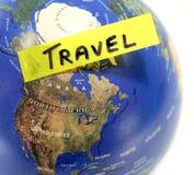 Erforschen Sie die Welt Lizenzfreies Stockfoto