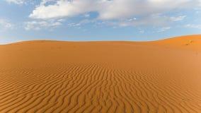 Erforschung der Sahara-Wüste in Marokko Lizenzfreie Stockfotografie