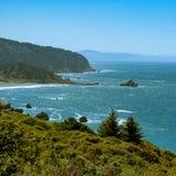 Erforschung der schönen Aussichten des coastli Vereinigter Staaten Lizenzfreie Stockfotografie
