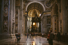 Erforschung der Vatikanstadt Stockbilder
