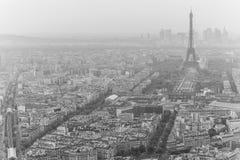 Erforschung des Anblicks von Paris innerhalb einiger Tage Stockfoto