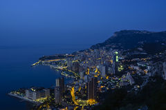 Erforschung des Fürstentums Monaco Stockbild