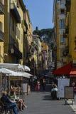 Erforschung des französischen Rivieras in Nizza Stockfoto