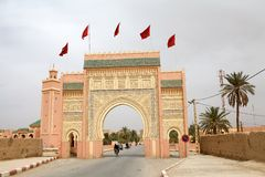 Erfoud gate Royalty Free Stock Photography