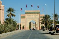 Erfoud Gate - Morocco Stock Photo